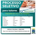 Seleção para Tutores do Sistema Universidade Aberta do Brasil - UAB