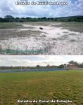 Principal Centro Esportivo de Buriti dos Lopes está Totalmente Abandonado