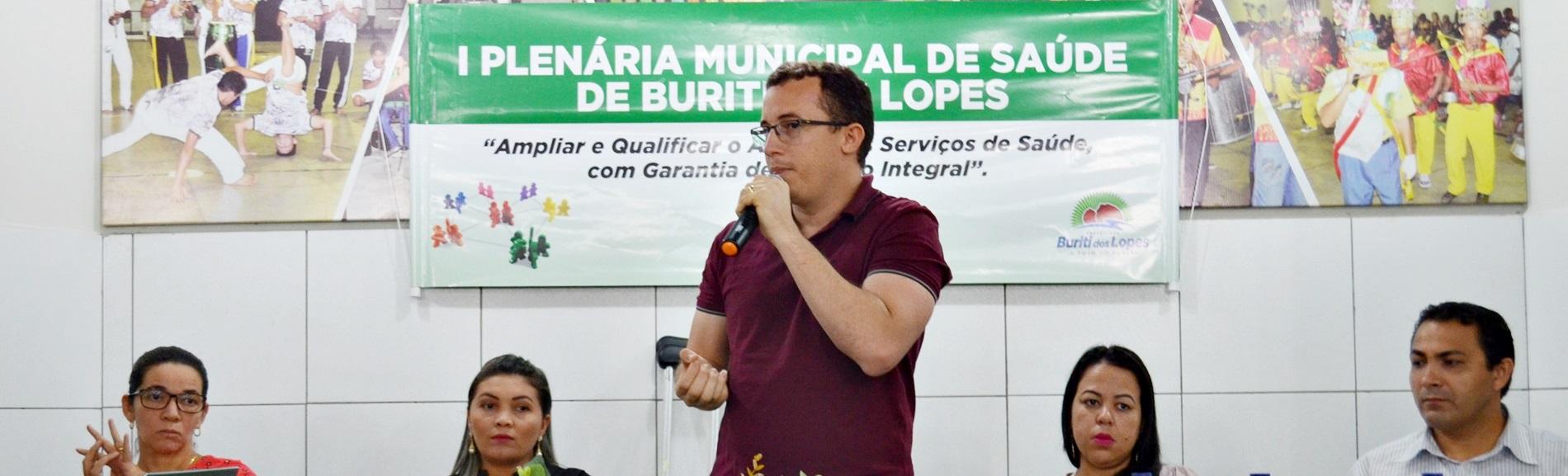Na Saúde Pública Buriti dos Lopes Investe o Dobro de Antes, Diz Júnior Percy