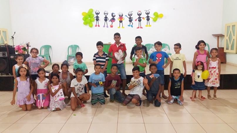 Mês das Crianças – Igreja Esperança Monte Sinai